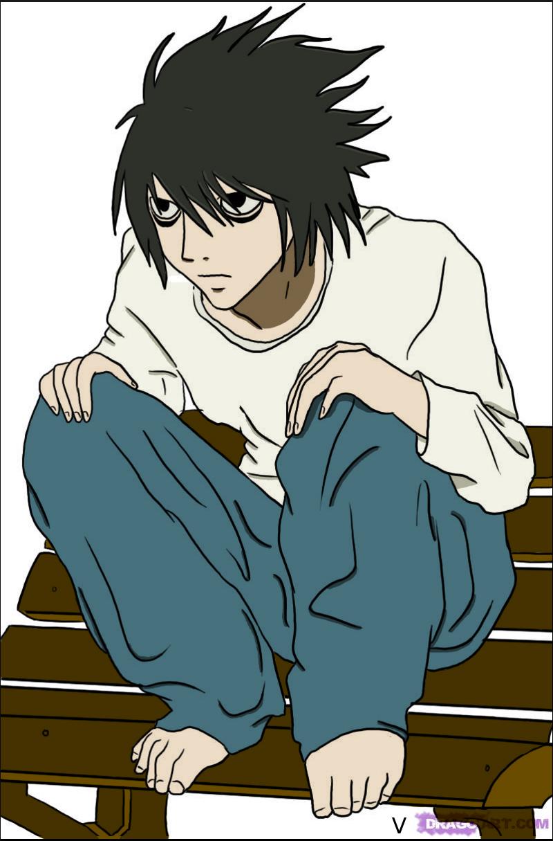 'L' Death Note Colo 2 by Graphfun