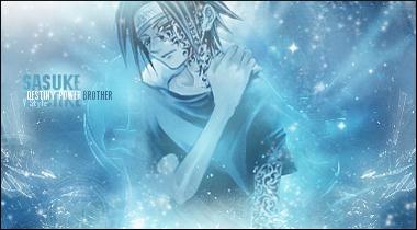 Sasuke Uchiwa Destiny Power by Graphfun