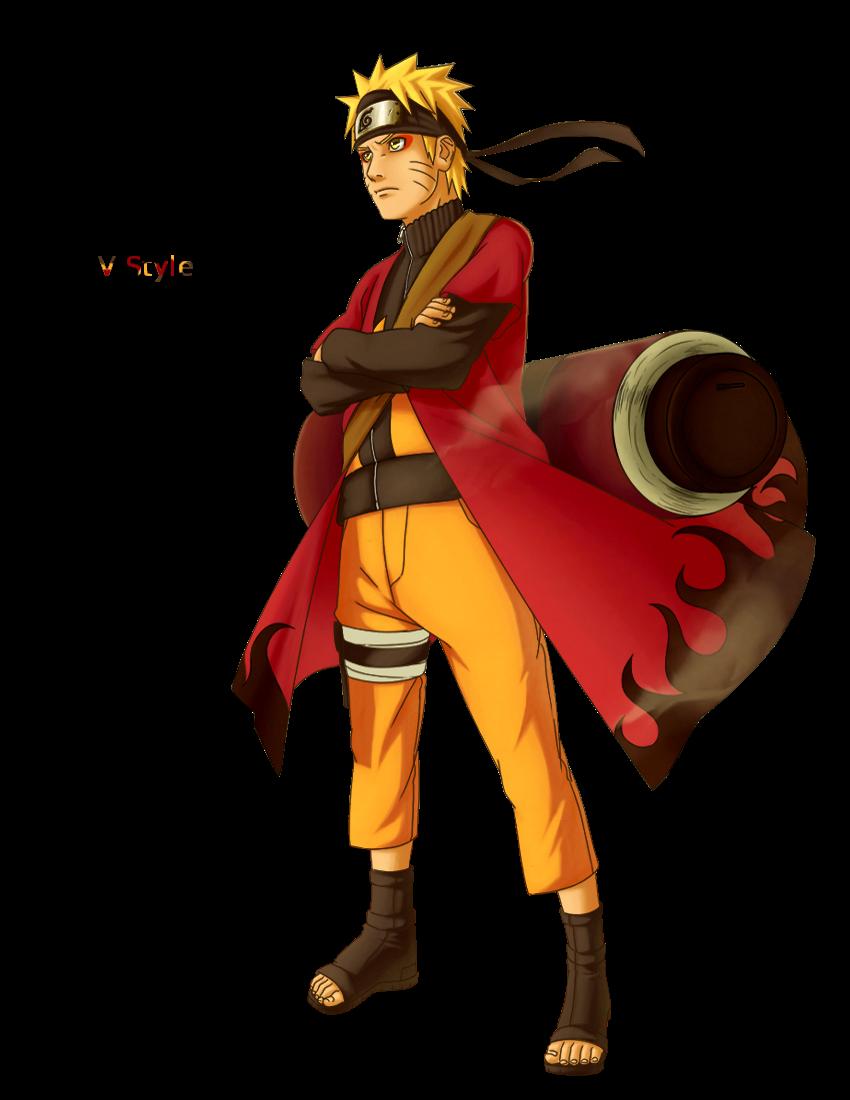 Naruto Sage Render by Graphfun