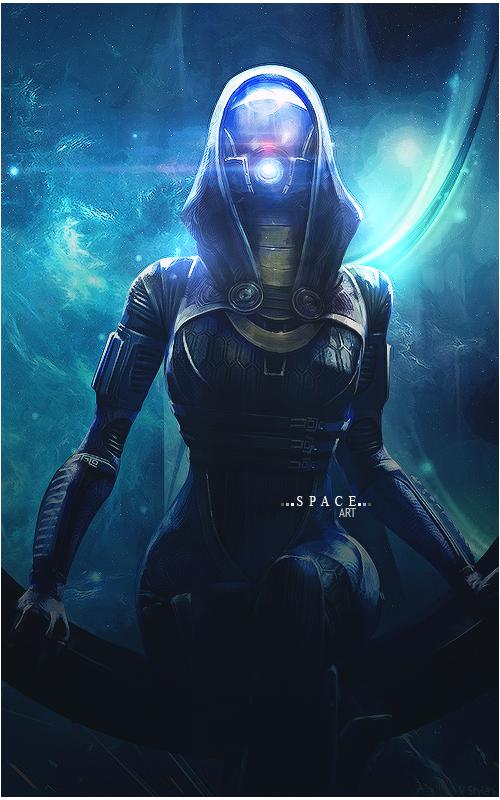 Space Art Mass Effect by Graphfun