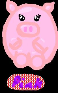 Pink the piggy..... by Potato-Latke