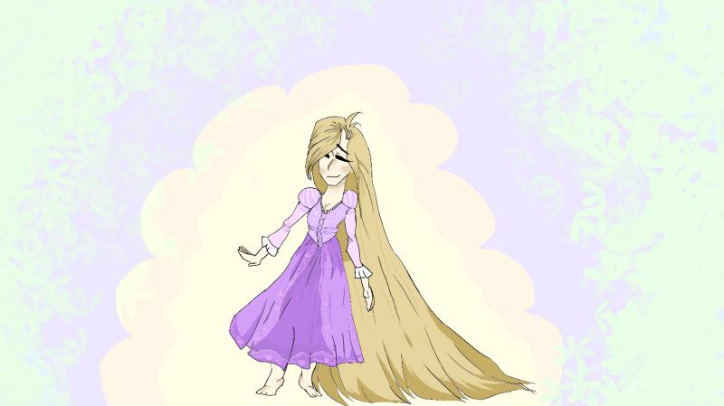 Rapunzel by SpookyMelissaLycan