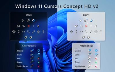 Windows 11 Cursors Concept HD v2