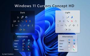 Windows 11 Cursors Concept HD