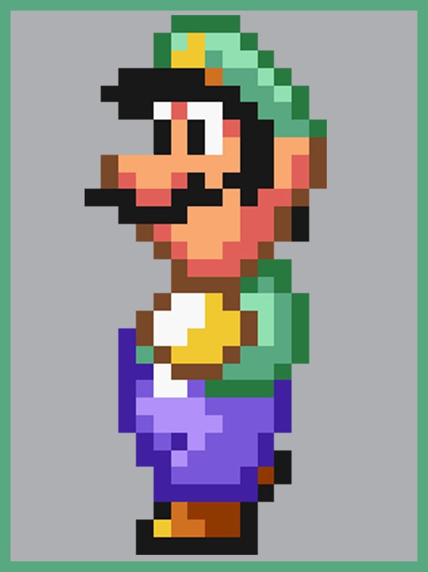 Mario Allstars Super Mario Bros 2 Luigi By Westwood69 On Deviantart