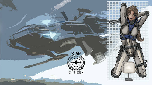 Star Citizen Lamp Pinup