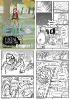 Comic: Fatal Condition: Pages 1 - 4