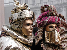 Venice Carnival Mask 8 by saracco