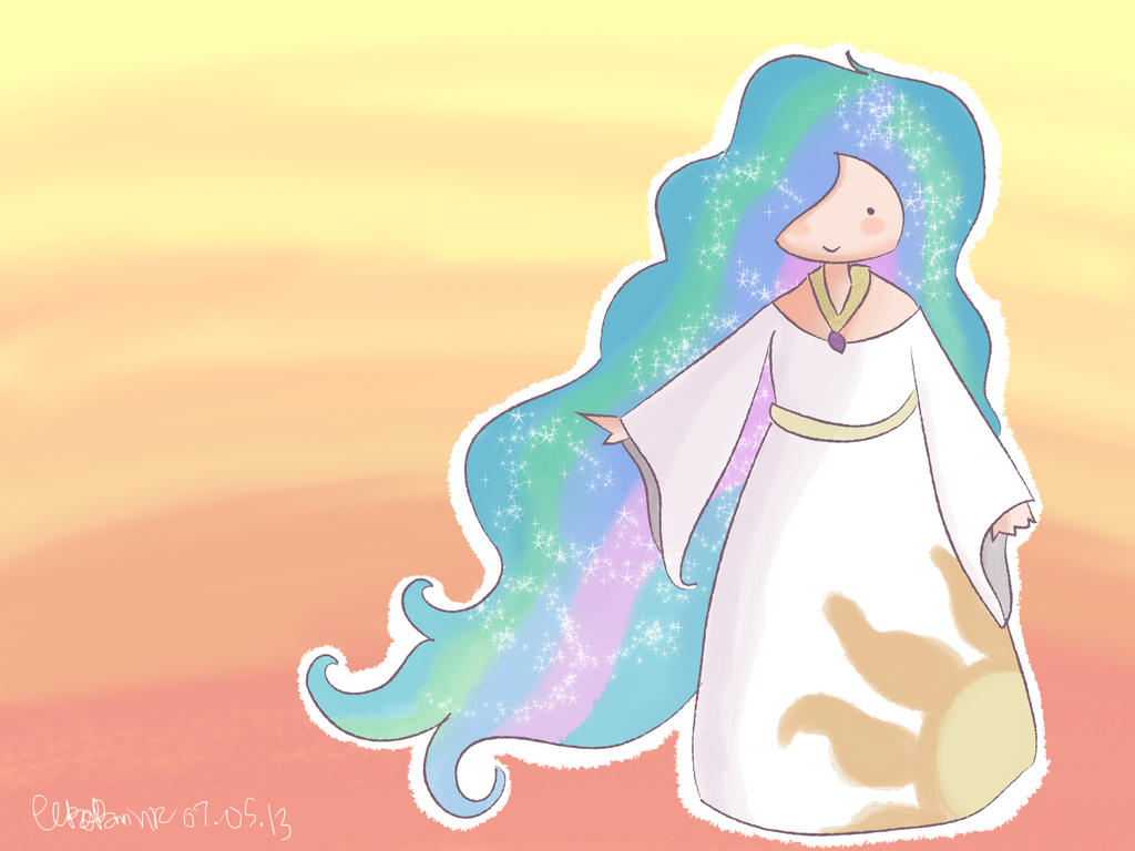 My Little Pony Princess Celestia By Kyokaiba On Deviantart My Pony Princess Celestia Pictures