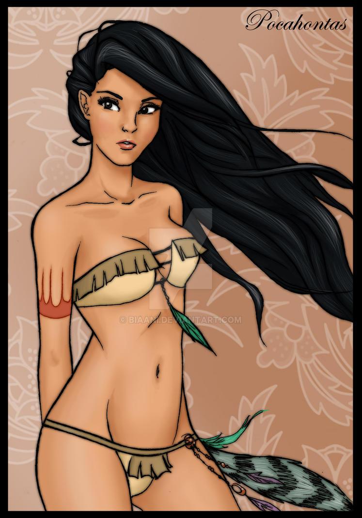 -Pocahontas- by Biaani