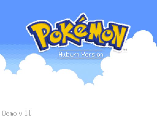 Pokemon Auburn Demo v1.1 Release (NEW LINK) by Cilerba