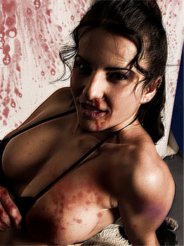 Bloody MMA Girl sexy fight by Spartastic