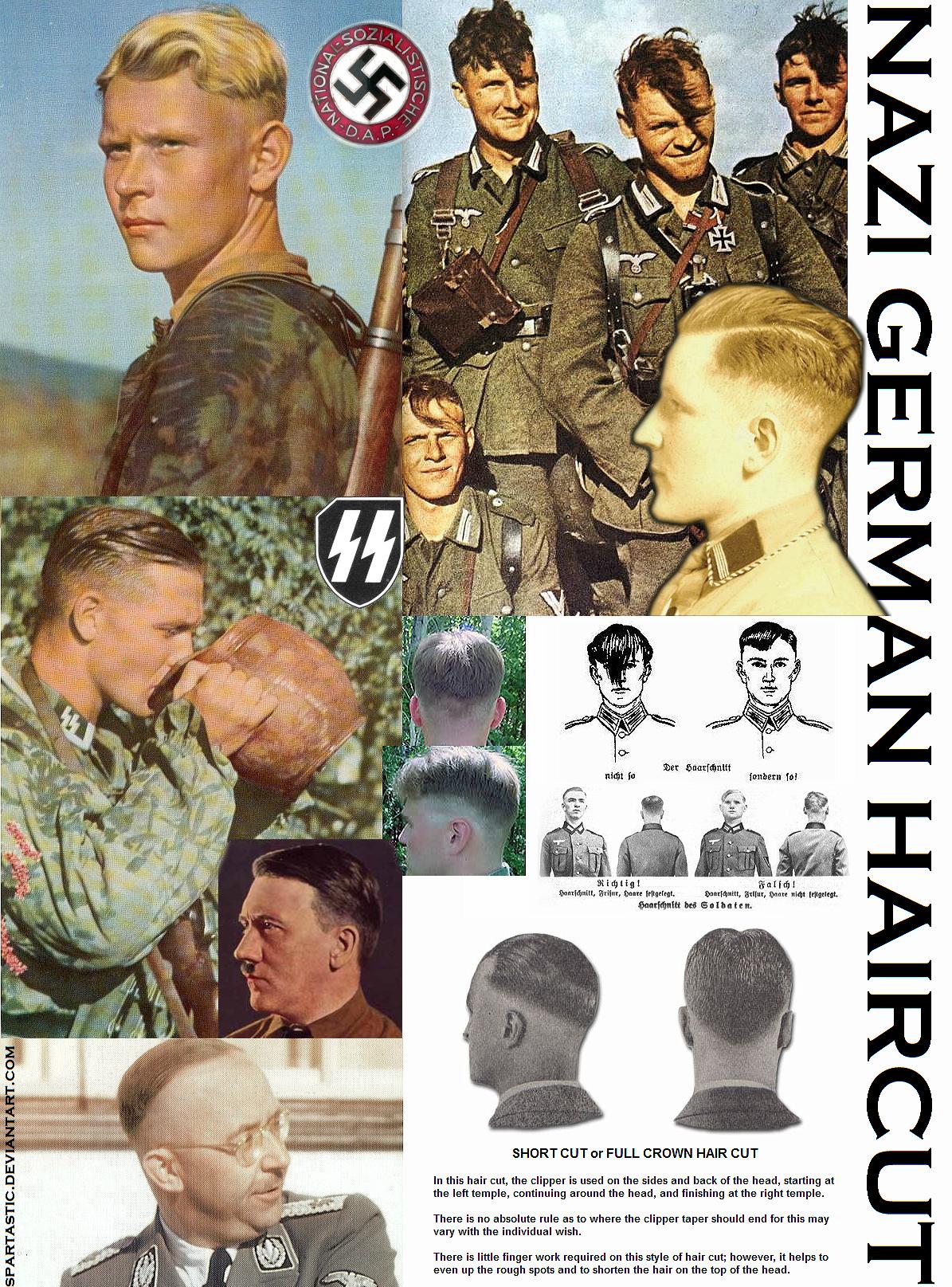 German Military Haircut Nazi german haircut by