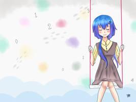 Aoki Lapis April Fool by Haru-Shonta