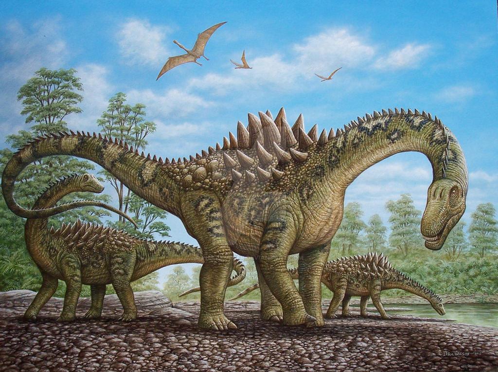 Ampelosaurus 1 by phillustr8r