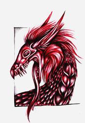 Dragon of Blood by Kel-Del