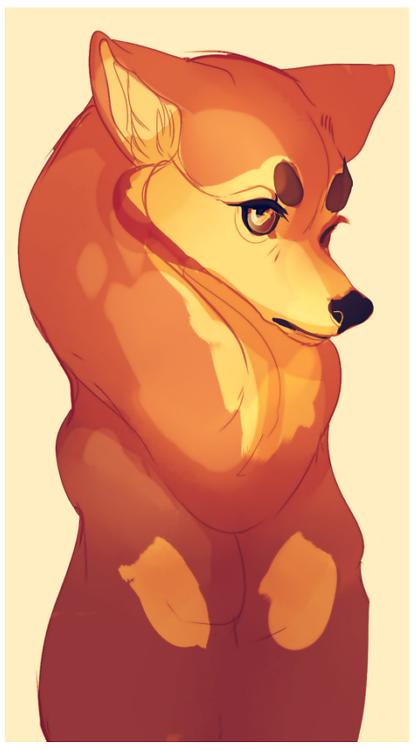 dog by Kel-Del