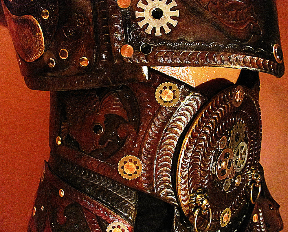Steampunk Samurai, Ronin of the Industrial Empire by ...