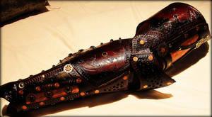Steampunk leg Armor