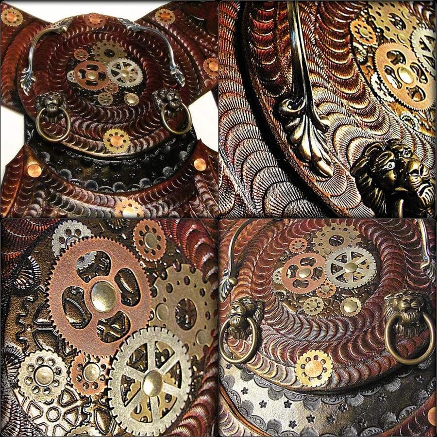 leather tooling by badlukart on deviantart