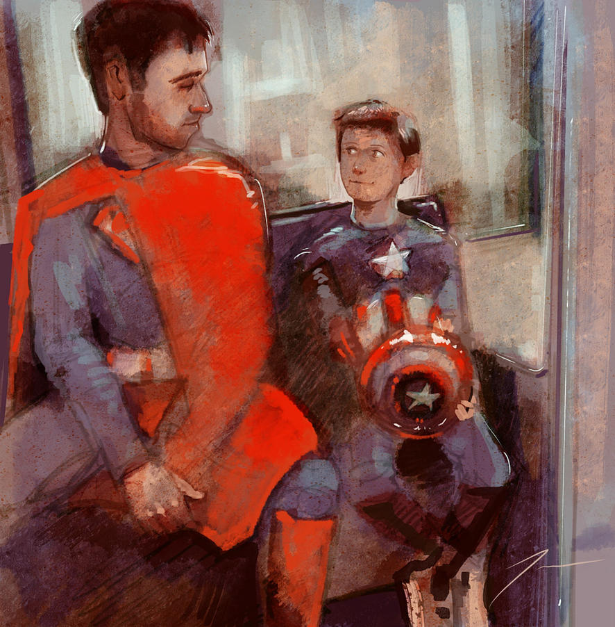 Superheroes by Tenorio