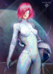 astronaut by Katrina-Chiu