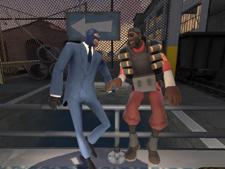 GMOD demo x spy by GothicRosez on DeviantArt