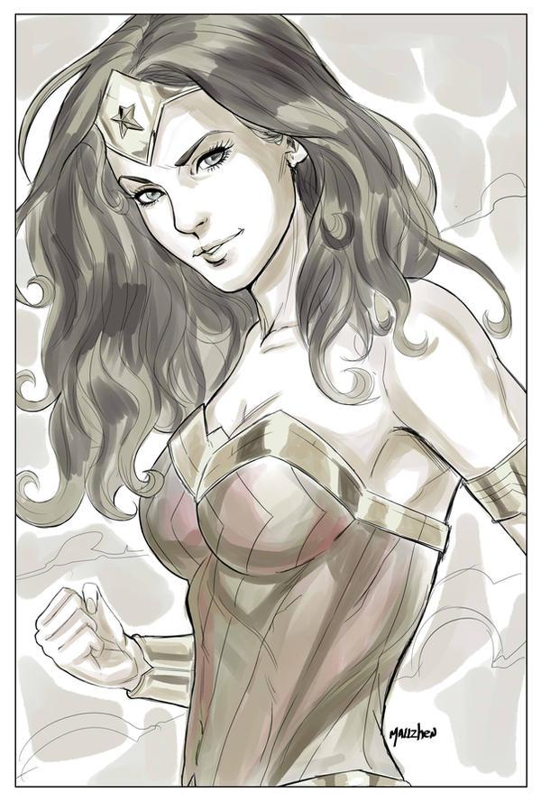 Wonder Woman by SPIDERLAL