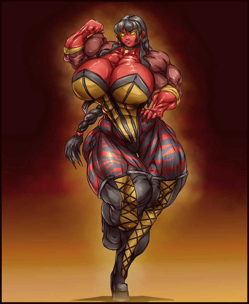The demon hunter Volunt by Jackstalkerfear