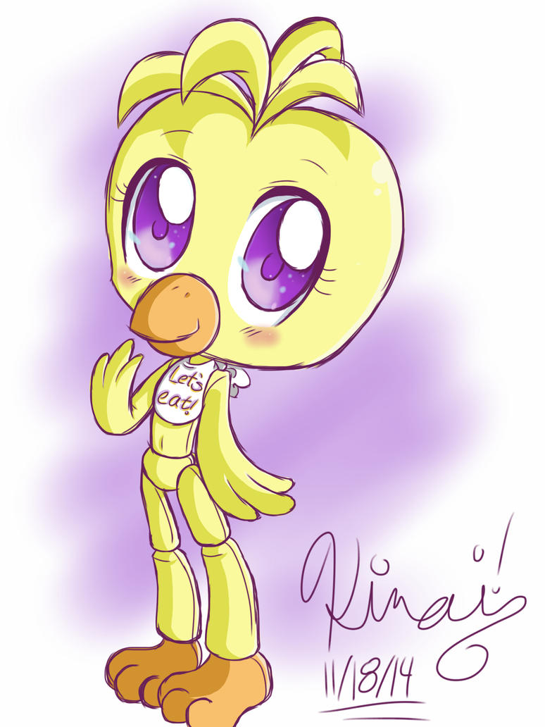 Five Nights at Freddy's - Chica by KiraitheEchidna