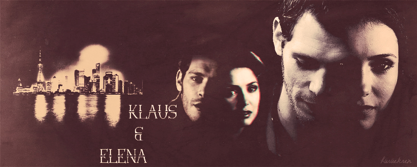 KLAUS and ELENA by huruekrn-ackles