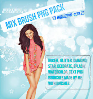 MIX BRUSH PNG PACK