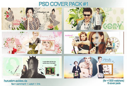 PSD Cover Pack #1