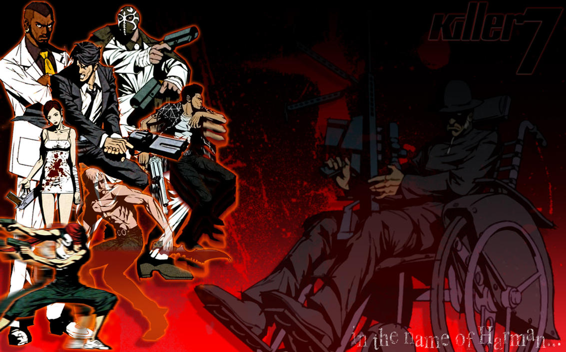 Killer7 Wallpaper 2 by PixelArtPaintings