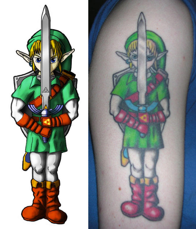 Link tattoo by InfinitysEnd
