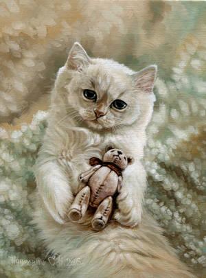 kitty by Animal75Artist