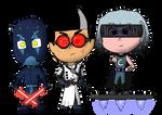 Night-Time Villains in a Galaxy Far, Far Away