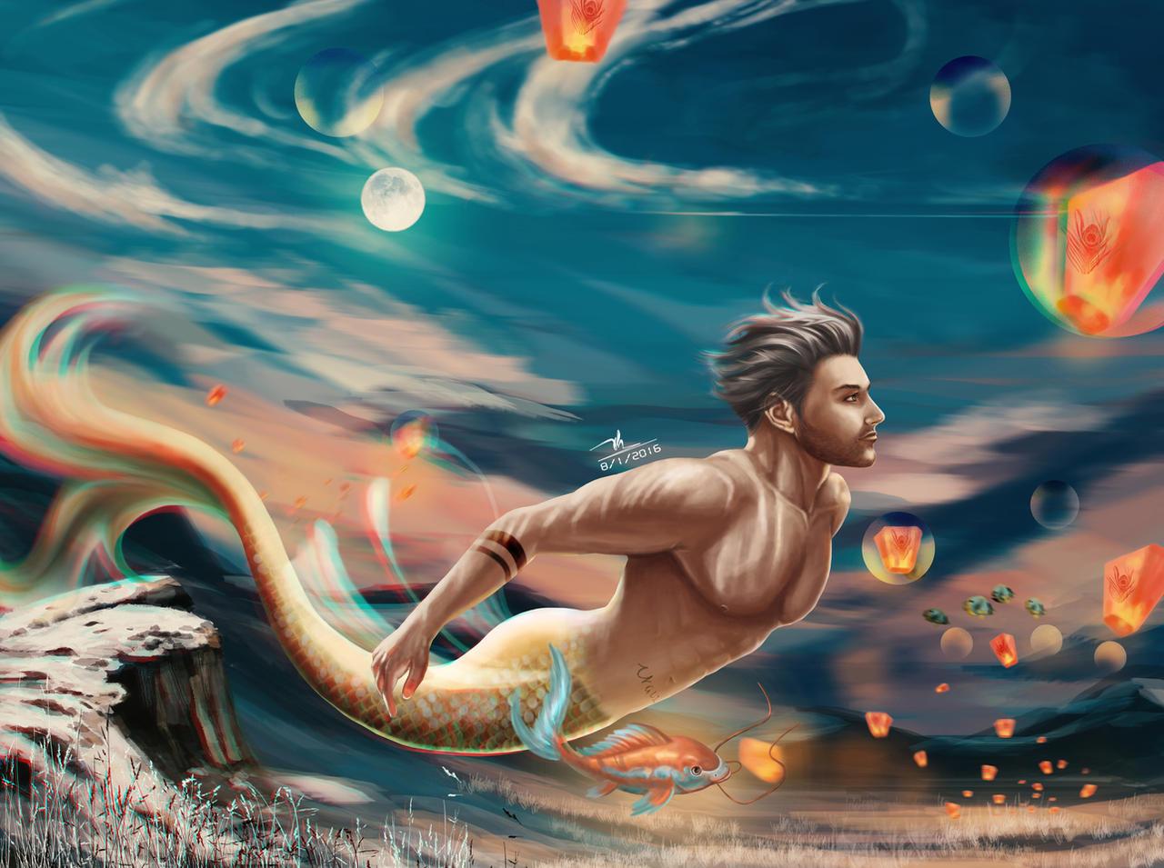 Merman Jack (Turrow) Art - Turrow Fanfiction/Fanart