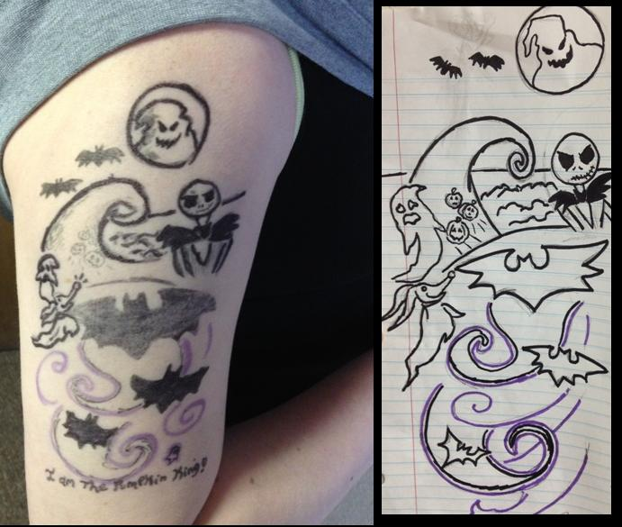Nightmare Before Christmas Tattoo By Jaytess On DeviantArt