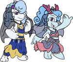Dancers of the Dawn and Midnight