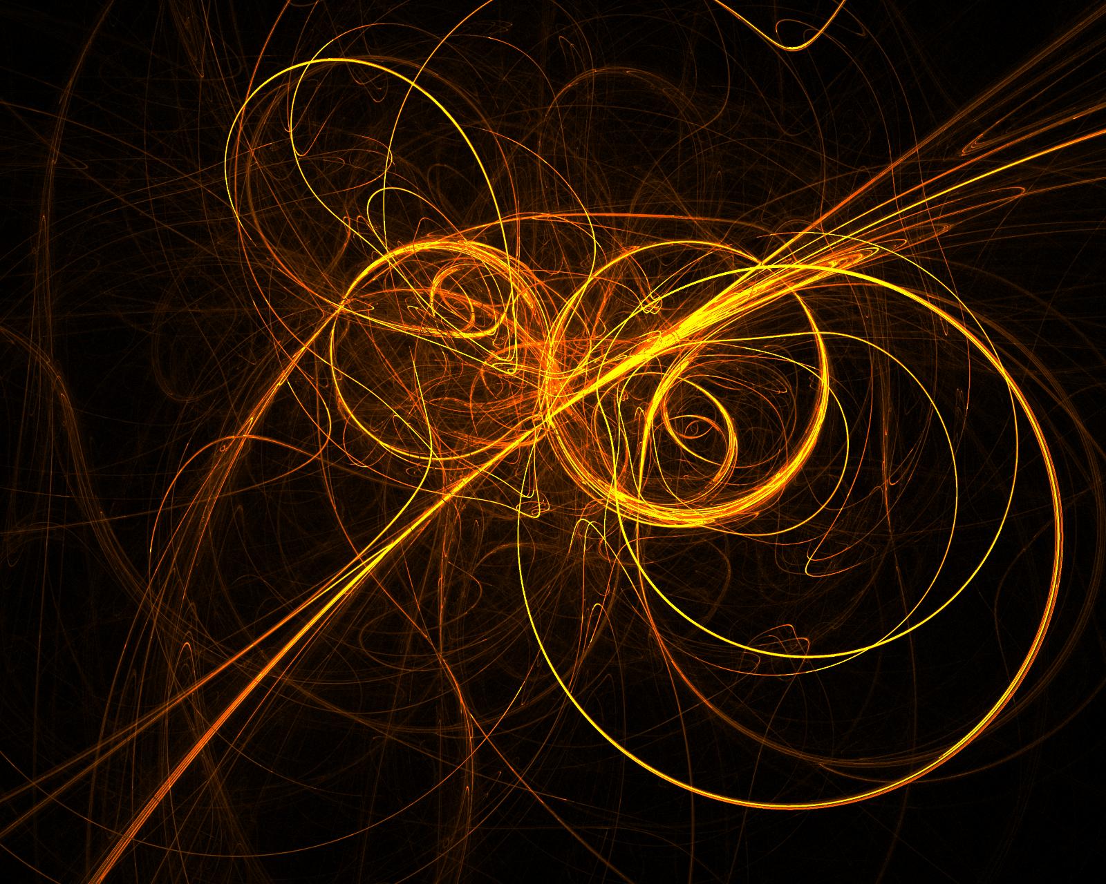 Golden Swirl Gimp Flame