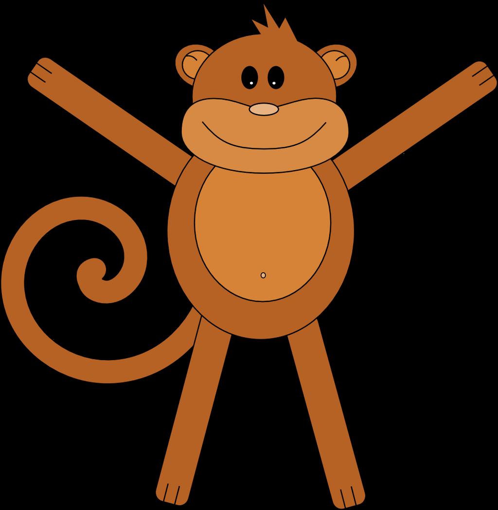 Simple Monkey by neilwightman
