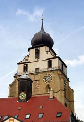der Herrenberger Stiftskirche