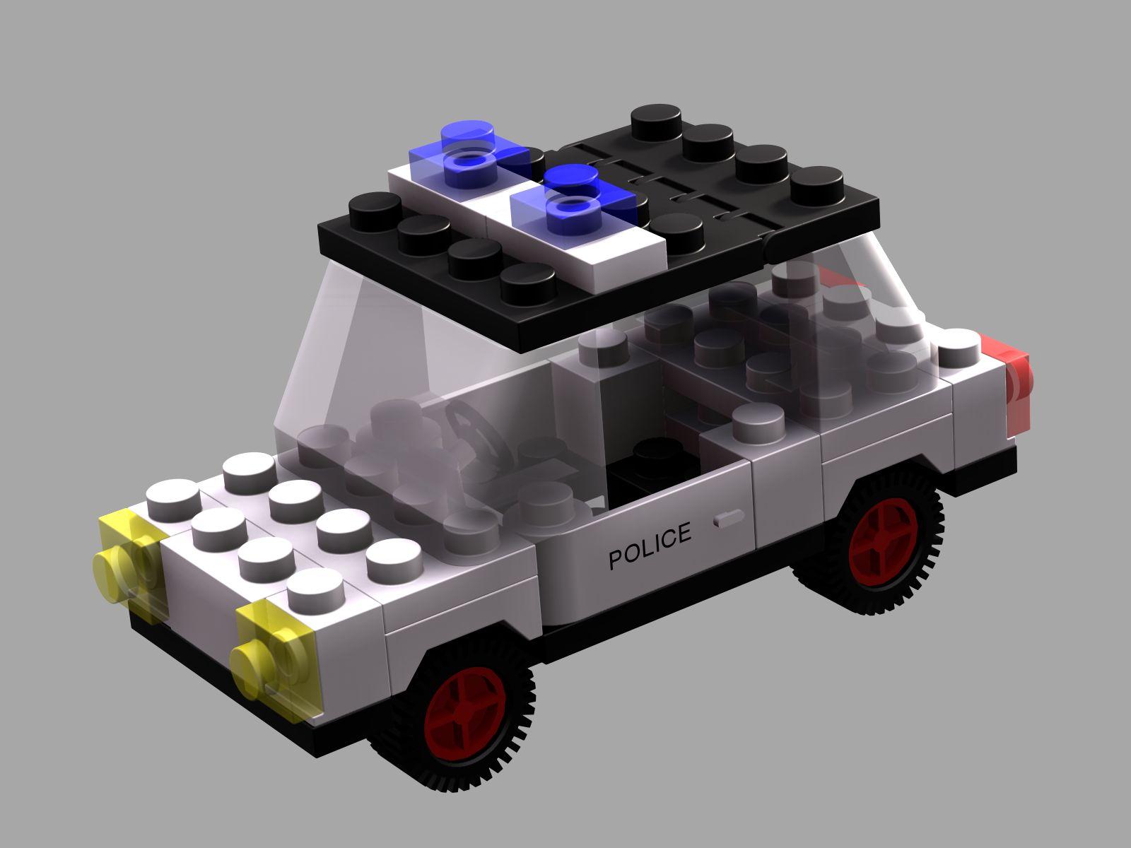 Lego Police Car by neilwightman on deviantART