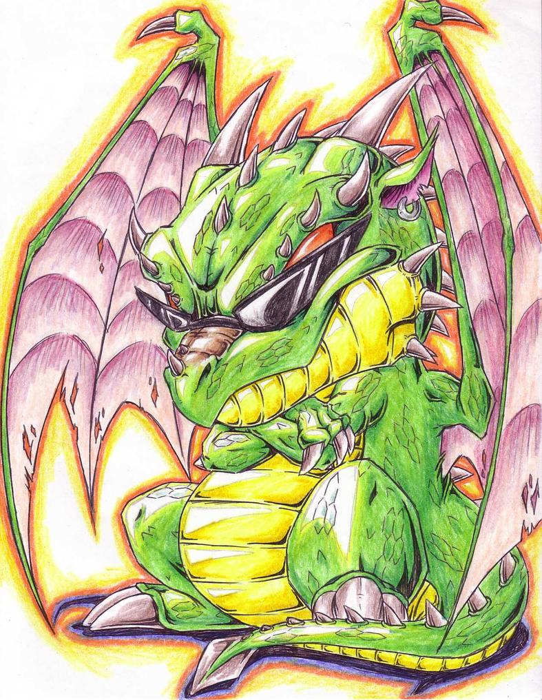 cool dragon by Dokuro on DeviantArt