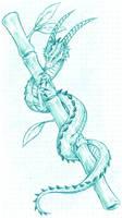 Little Dragon by Dokuro