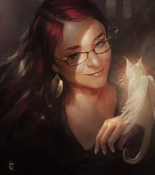 Sylessae portrait by RaphaelBauduin