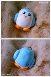 Burrr Penguin Ornament by numb-existence