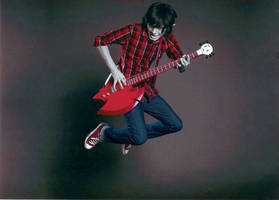 Marshall Lee from Adventure Time by spielbergfan1
