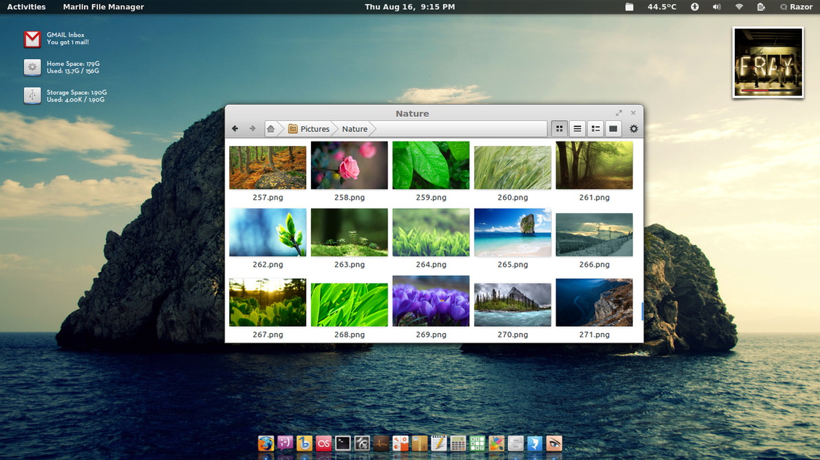 Agust Screenshot Ubuntu 12.04 by razor020